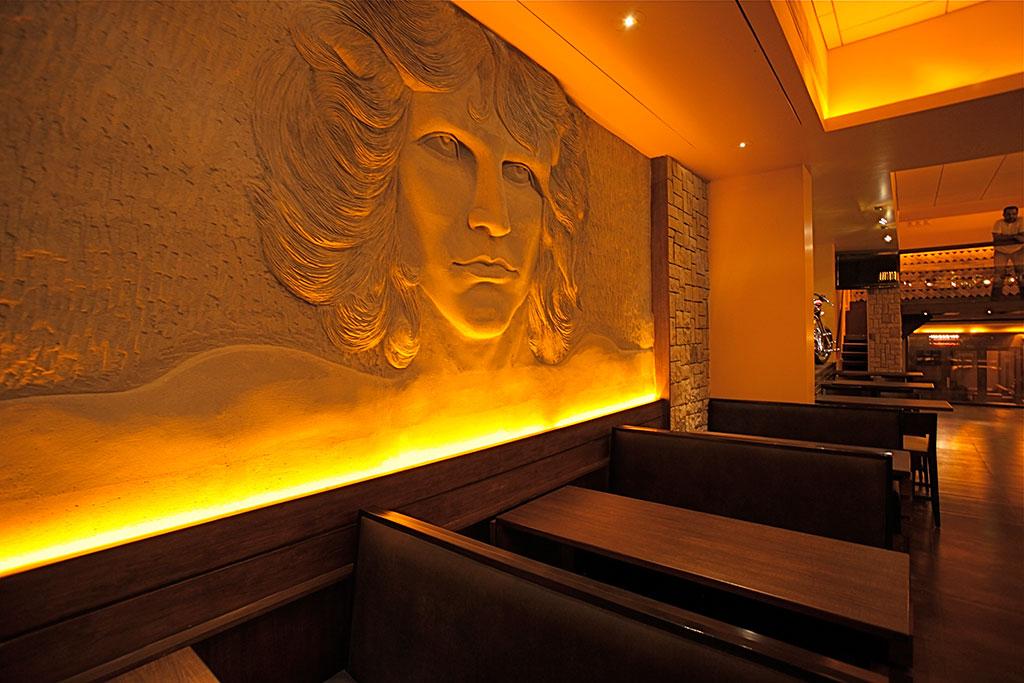 Kino108 Retro Gastro Bar Mumbai Aesthos Interior Design Consultancy