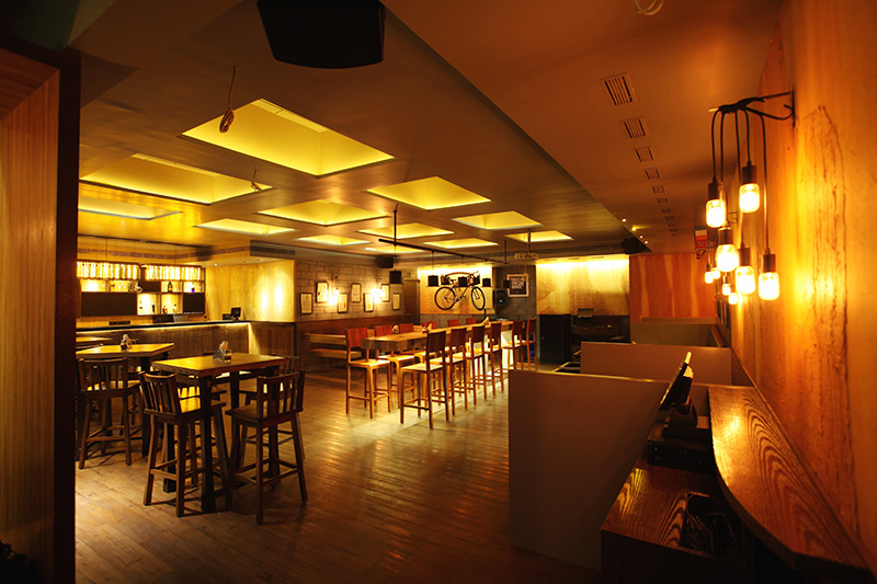 SANTE BAR, MUMBAI - AESTHOS Interior Design & Consultancy